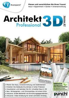 Avanquest Architekt 3D X7 Professional für Windows GRATIS (+4,90€ Versand)