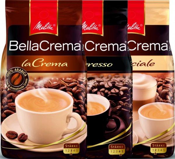 [Lidl] Melitta BellaCrema + 10 % mehr Inhalt (kg-Preis = 7,27)