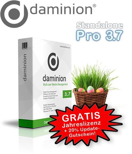 Daminion Standalone Pro 3.7 Jahreslizenz gratis statt 80€