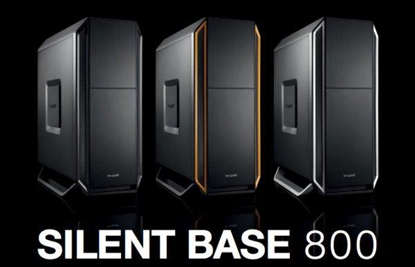 be quiet! Silent Base 800 - schallgedämmtes ATX-Gehäuse, 2x 140mm Lüfter, 1x 120mm Lüfter - 89,85€ - ZackZack.de (4 Farbvarianten)