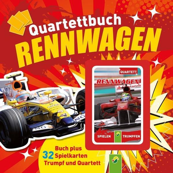 Quartettbuch Rennwagen (Buch plus 32 Spielkarten) für 1,50€ bei Thalia.de