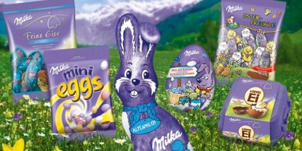[Real] Osterschnapper: 4 Milka Ostersüßwaren kaufen und Rabatt+Pb Punkte kassieren !! Nur noch HEUTE !!