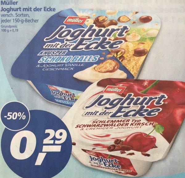 [Real bundesweit] Müller - Joghurt mit der Ecke für 0,29€