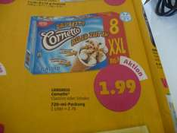 Cornetto Eis 8er Pack für 1,99€ // 0,25€ pro Stück ab Dienstag, den 07.04. bei Penny