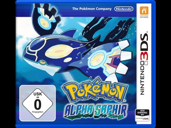 Pokemon Alpha Saphir (3DS) nur 24,99 € keine VSK @Saturn
