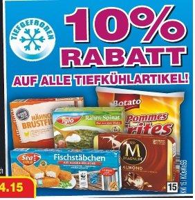 (Lokal) Netto ohne Hund 10% auf alle Tiefkühlartikel TK ab 09.04 (z.B. Wagner Pizza für 1.62€)