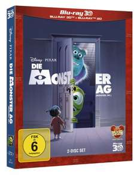 [3D Blu-Ray & 2D Blu Ray] Die Monster AG - für 10,99€ (gratis Versand) @ CeDe.de
