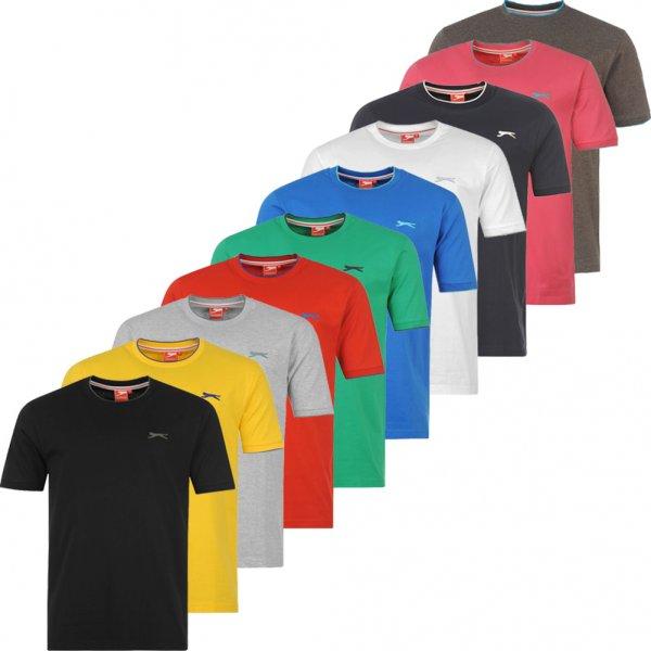 [Sportsdirect] 5 T-Shirs (Rund oder V) von Slazenger/La Gear für 18,98 Euro - auch Kindershirts günstiger