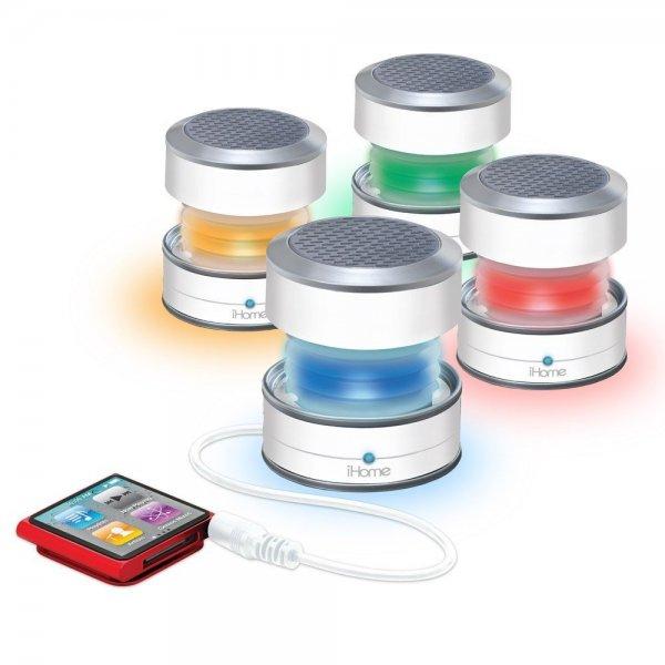 [3% Qipu] Versch. iHome Lautsprecher mit guten Rabatten, z.B. iHome iHM61 Mini Lautsprecher mit Lichteffekt für 9,99€ frei Haus @DC