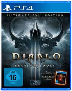 Amazon.de: Diablo III - Ultimate Evil Edition ~ PS4/XB1 36,97€ | PS3/XB360 29,70 €