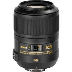 Nikon AF-S DX Nikkor 85mm f3.5 G ED VR Micro für 371,45 € @Amazon.it