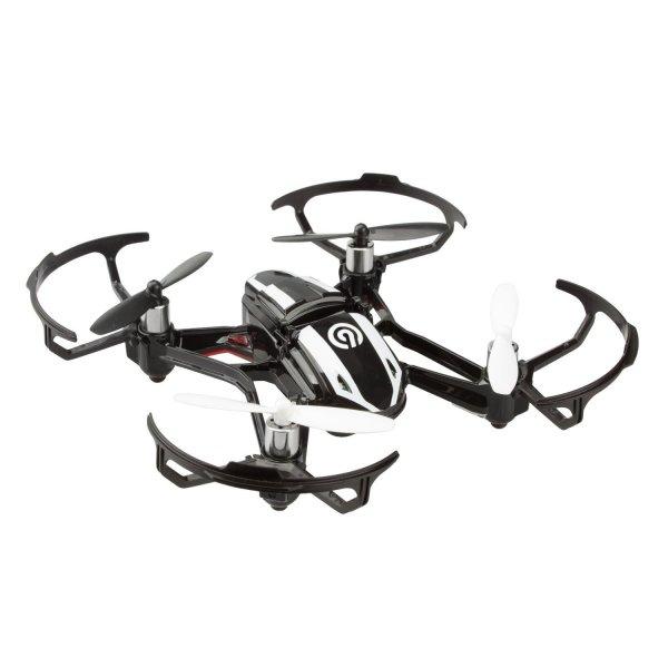 Quadrocopter NINETEC Spyforce1 Mini mit integr. HD Video Kamera + 2GB Micro-SD Karte für 49,99€ @eBay