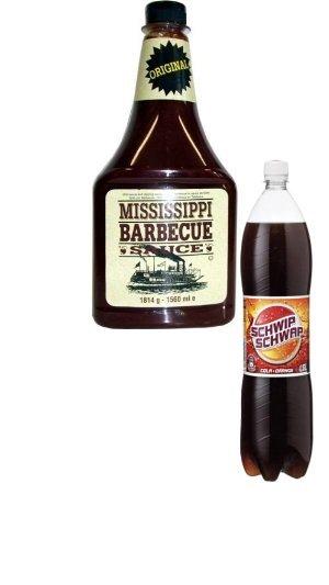 [NETTO MD] Mississippi Barbecue Sauce(1816 G,5,99) + Schwipp Schwapp(0,49€ 1,5L)
