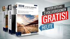 3 Vollversionen Gratis: FRANZIS COLOR projects elements & FRANZIS HDR projects elements & FRANZIS SILVER projects elements