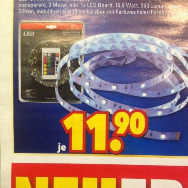 [lokal Essen-Steele] 3 Meter LED Band mit Fernbedienung