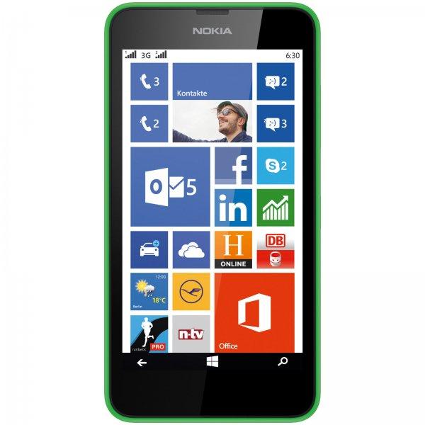 Nokia Lumia 630 Dual Sim grün für 77€ @ebay (Media Markt)