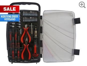 Werkzeugsatz 41tlg. für 11,99€ inkl. Versand @Hellweg