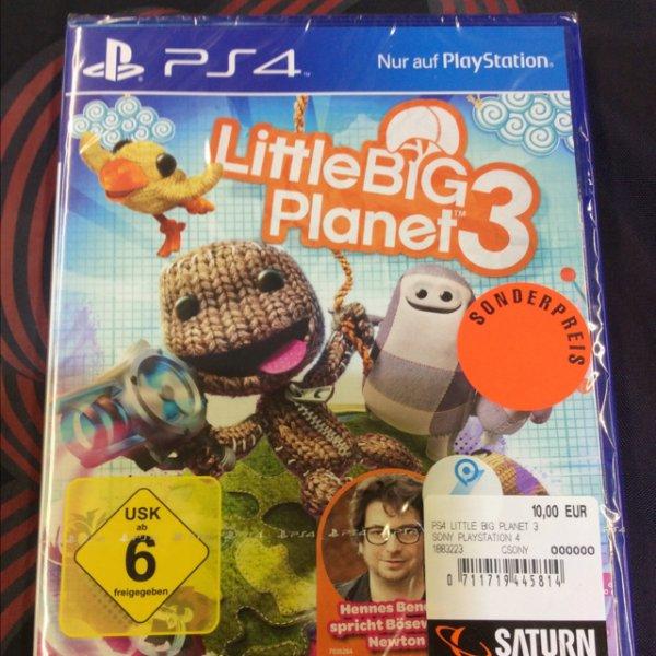[Lokal Essen Saturn] Little Big Planet 3 für PS4 10€ PlayStation TV 49€