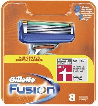 Gillette Fusion Rasierklingen 8er bei getgoods 27% unter idealo - ideal für Mehrfachbesteller