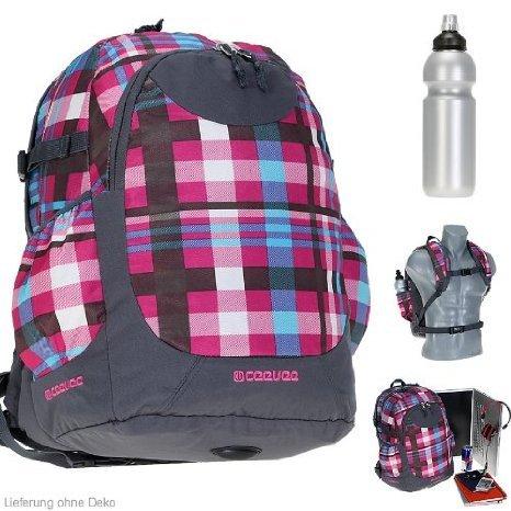 [Amazon] CEEVEE ETON XL PINK - Rucksack mit Laptopfach [41 x 28 cm] + Trinkflasche (Braun für 25€ bei Koffer24)