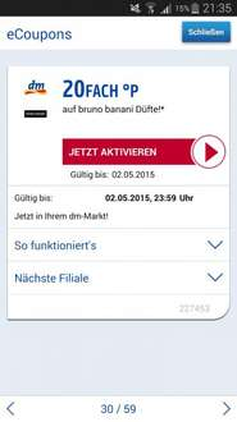 Bruno Banani Parfüm   gratis + ca 3€ Gewinn   ( bei nicht gefallen ! )