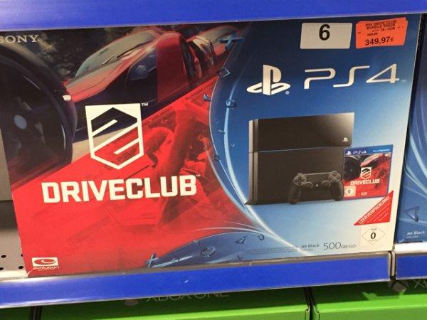 [Lokal Weiterstadt Toys'R'Us] EIN PS4 Driveclub Bundle
