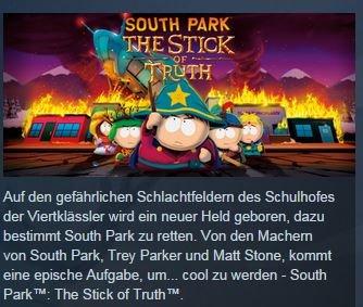 [STEAM] South Park: Der Stab der Wahrheit - STEAM DOWNLOAD