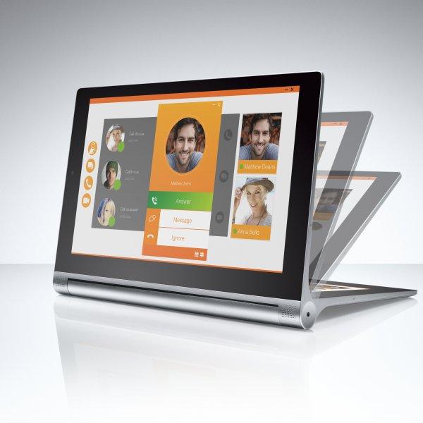 [MeinPaket] Lenovo Yoga Tablet 2 LTE (10'' FHD IPS, 2GB RAM, 1,8 GHz Quad-Core, Android 4.4) für 244€
