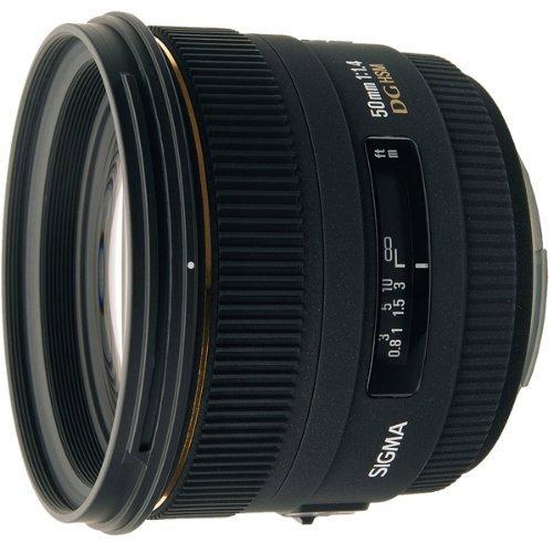 Sigma 50 mm F1,4 EX DG HSM für Nikon