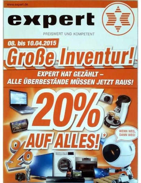 [Lokal Franken] Expert 20% auf alles vom 08.-10.04