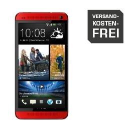 """HTC One (M7) 32GB Rot - 4,7"""" Full-HD, Snapdragon 600 mit 1,7Ghz QC, 2 GB RAM, 32 GB Rom, LTE, NFC für 244€ @Saturn.de"""