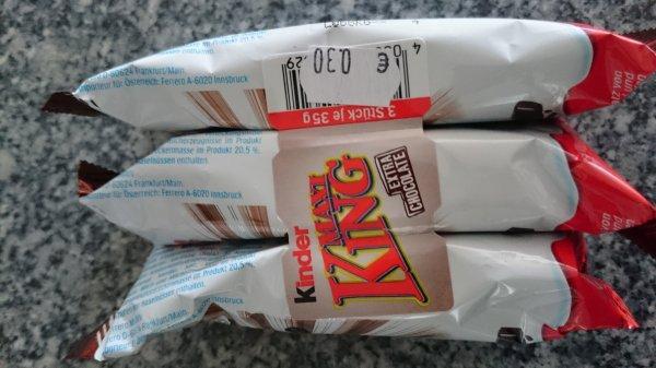 [Lokal rewe riedstadt] Kinder Maxi King Extra Choclate 3er Pack