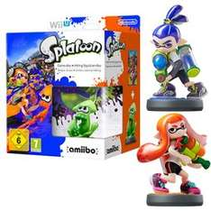 Splatoon (Wii U) + amiibo Limited Edition + Boy and Girl Inkling amiibo für 86,75€ @game.co.uk