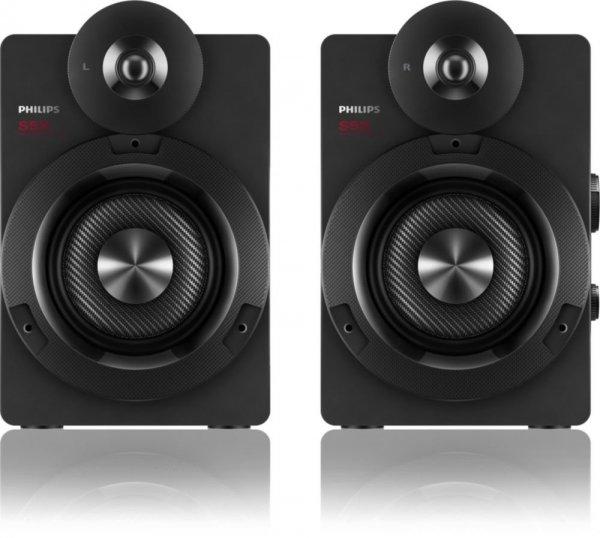 Philips BTS5000 Bluetooth-Lautsprecher (100 W RMS, aptX, AAC, Bassreflex-System) für 102€ @Cyberport