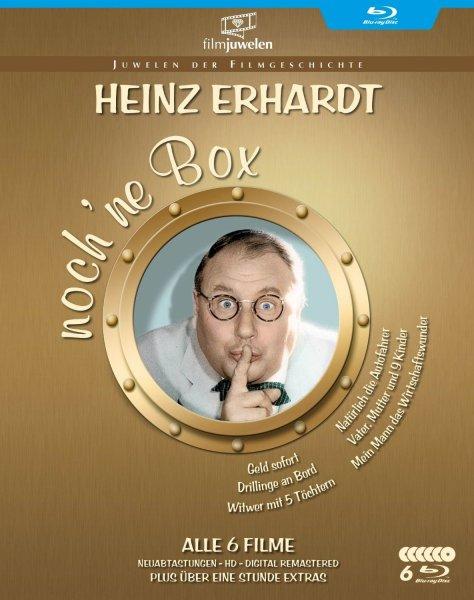Heinz Erhardt - noch 'ne Blu-ray Box (6 Kultfilme in HD + Bonus-Filmclips) für 20,99 € > [amazon.de] > Prime oder [mediamarkt.de] > Abholung
