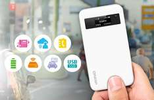 [Redcoon] QNAP QGenie QG-103N (Mobiles NAS + Powerbank + Router) für 76€ = 17% Ersparnis