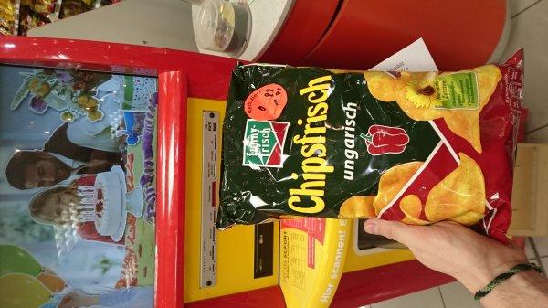 [lokal aachen? ] funny Chips ungarisch 99ct