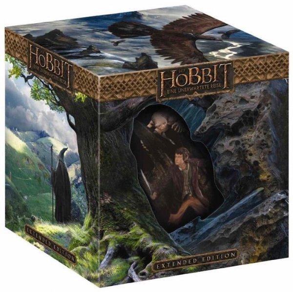 (Conrad.de) (BluRay) Der Hobbit: Eine unerwartete Reise - Extended Edition 3D/2D Sammleredition (5 Discs, inkl. WETA-Statue) für 21,45€