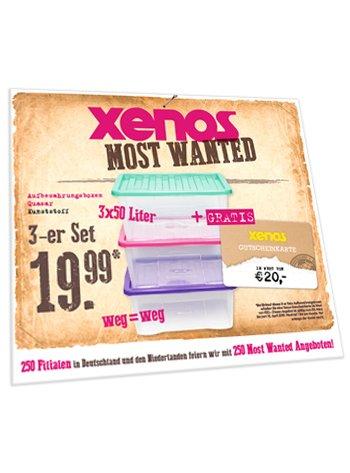 XENOS (bundesweit) Boxenset für 19,99 + 20€ Gutscheinkarte