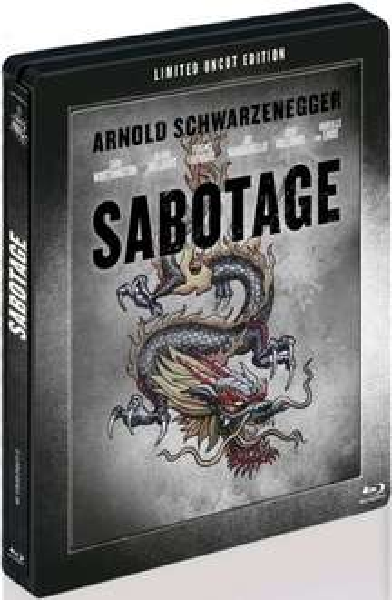 Sabotage (Steelbook Limited Uncut Edition mit Lentikularkarte) Bluray
