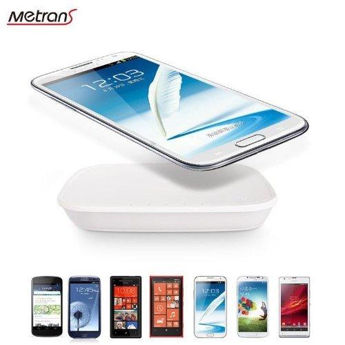 QUMOX @ Metrans QI ladegerät Pad Wireless Charger Pad mit 5000mAh Power bank für 9,98 €