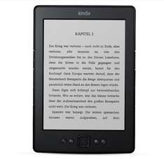 [EP] Kindle Ebook-Reader 2014 WiFi (4 GB, 6'' ePaper-Technologie) für 55,89€