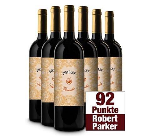 [6% Qipu]  Pinyolet Garnacha Vinos del Atlantico Montsant D.O. 2011 (92 Parkerpunkte) für 39,95€ zzgl. 4,95€ Versand @Plus Online