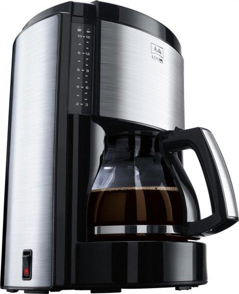 [Blitzangebot] Melitta Look de Luxe Kaffeemaschine, autom. Abschaltung, Tropfstopp, schwarz/Edelstahl, M 652 bk SST für 34,73€ @Amazon