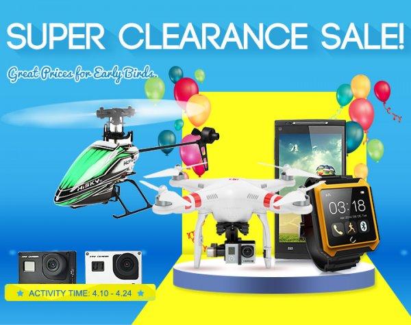 Super Clearance Sale @Banggood
