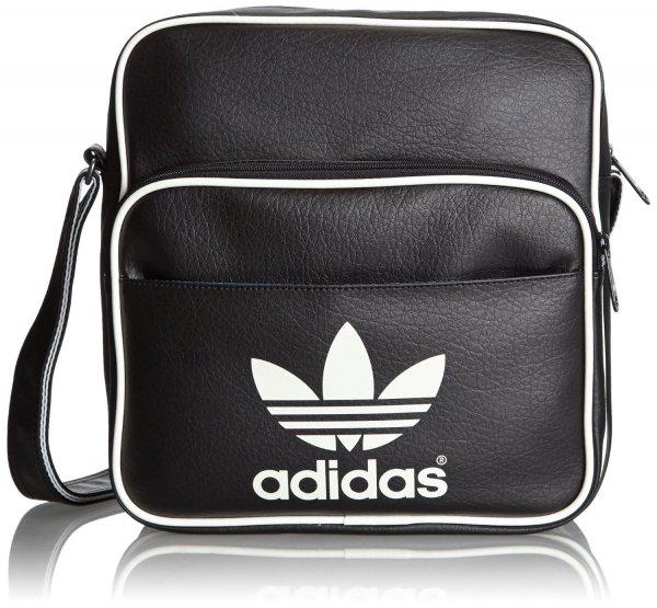Adidas Tasche Sir Bag classic Black verschiedene Farben 11 x 28 x 30 cm, 12,4 Liter für 12,89€ @Amazon Prime