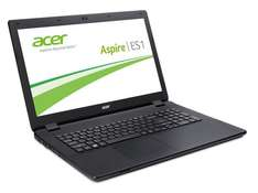Acer Aspire ES1-711-P7HS (17,3 Zoll HD+) Notebook (Intel Pentium N3540, 2,66GHz, 4GB RAM, 500GB, Win 8.1) schwarz WHD 311,32 statt 451€ (AMAZON)