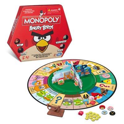 """[Real] Monopoly """"Angry Birds"""" + Sitzkissen für 18,99€ (Versand) // für 15€ bei Abholung"""