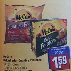 [Rewe] McCain Country Potatoes fuer 1.09 Euro dank Angebot + scondoo