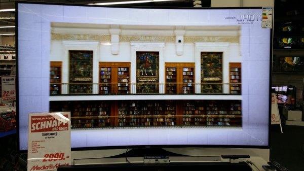 [Lokal Gütersloh] 65 Zoll UHD Samsung UE65HU8290 für 2990,-€ bei Media Markt